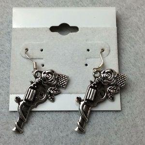 New Gun and Roses Earrings